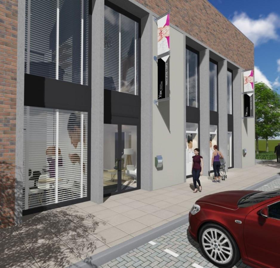 Visualisatie nieuwbouw Eindhoven